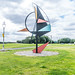 WIND SCULPTURE BY EAMON O'DOHERTY [ALFIE BYRNE ROAD CLONTARF]-131634