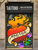 """""""Walk-Ins Welcome"""" (chrisk8800) Tags: tattooparlour painting oldquarter barcelona colors colours reflections"""