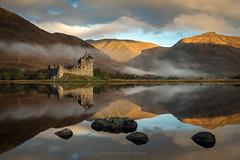 Kilchurn in the mist (chrismarr82) Tags: kilchurn castle scotland sunrise mist reflection nikon d750