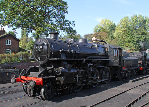43106 at Bridgnorth 2