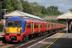 South West Trains Finale (ƒliçkrwåy) Tags: 456004 class 456 emu train railway swt southwesttrains clandon station