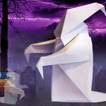 Origami Ghost by Anibal Voyer