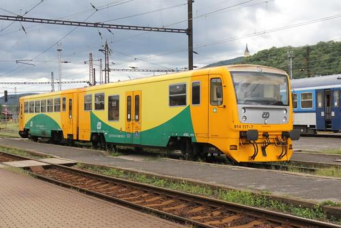 České dráhy 814 117-8 & 914 117-7
