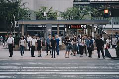 Ready To Cross? (Fajar Pangestu) Tags: sony sonya7 a7 fullframe kyoto japan tamron tamron9028 tamron90mm 90mm 90mmf28 candid streetphotography street humaninterest human beautiful explore people crowd