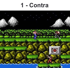What is your best #nes game of all time ? This is mine #contra :) share yours ! (foxview2015) Tags: nes contra