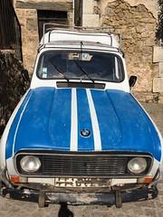 French Car (TitusT1960) Tags: car frenchcar oldtimer blau r4 renault frankreich auto