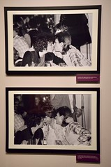"""""""Bowie by Mick Rock"""" exhibit: Bowie with Lou Reed & Mick Jagger"""