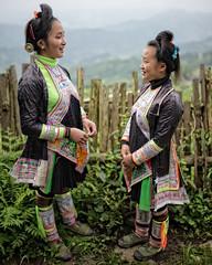 The Miao girls from Basha (Guizhoiu, China 2016) (Alex Stoen) Tags: alexstoenphotography basha china girls guizhou leicamptyp240 miao miaopeople portrait summiluxm35mm tribes village