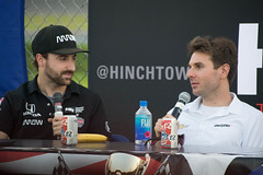 Mayor on Air live (elizabeth_XTC) Tags: abc supply 500 pocono raceway poconos pennsylvania motorsports indycar indy car racing race tricky triangle mayor air podcast james hinchcliffe schmidtpetersonmotorsport will powers power penske