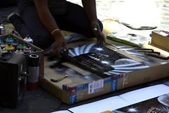 Roma nelle mani degli artisti / Rome in the hands of artists (Loredana Consoli) Tags: roma rome artsti artistidistrada artists colosseo colours light viaggio travel romacaputmundi
