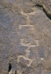 Petroglyphs / Chaco Culture NHP (Ron Wolf) Tags: anasazi anthropology archaeology chacoculturenationalhistoricalpark nationalpark nativeamerican puebloan anthromorph anthropomorph petroglyph rockart newmexico
