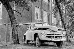 #Georgia #Tbilisi /All Right Reserved © (Al Banawi) Tags: black white car photograph georgia tbilisi may russia amman jordan life old but gold