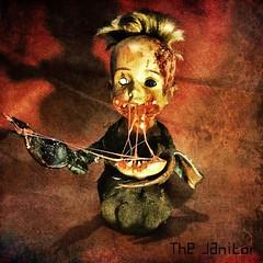 Created by The Janitor (JAMES @ studio 136) Tags: spooky babieshead baby head dark black eyes terrordolls terrordoll terror horrors horror gothic goth film movie drop jaw scream clown pennywise it kind one doll british queen evil storm horrormoviesstylecrazy dead fitness horrordolls ooakdolls nightmares halloween deathdoll ooak horrordoll