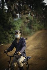 Cambodian bike rider (Bo47) Tags: asia bo47 cambodia peopleoftheworld kampotprovince kh