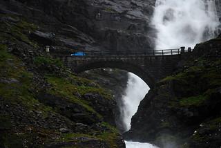 Stigfossen and the bridge