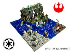 MOC Battle on Pamart (vlad_shevtscov) Tags: battle starwars empire lego moc diorama