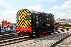 D8483 Old Oak Common 2nd September 2017  E1880 (focus- transport) Tags: trains old oak common open day classes 31 47 50 57 180 800 d british railways br oliver cromwell tornado colas gbfr gbrf gwr hst rail operations group railcar diesel steam great western railway high speed train gb freight