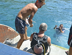 2508 03a_Турция (KnyazevDA) Tags: disability disabled diver diving amputee underwater wheelchair