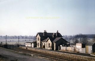 206 Angerton station 21-04-56 (DG Charlton) 233