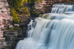 Middle Falls at Letchworth State Park (Mike Ver Sprill - Milky Way Mike) Tags: middlefalls letchworthstatepark upstatenewyork ny michaelversprill natural natures steps nature landscape gorge east niagara grandcanyonoftheast longexposure beautiful cascading cascade falls