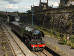"60103 ""The Flying Scotsman"", Brightside, Sheffield (little mester.) Tags: theflyingscotsman steam heritage brightside sheffield"