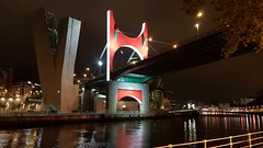 Salve (arxabin) Tags: puente salve bilbao guggenheim night city noche