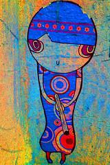 Jah is real and Joiny from Köln (Marco Braun) Tags: streetart graffiti sticker colourful farbig bunt multichrome köln2017 joiny graffitiehrenfeld grün green vert coloured girl girly mädchen berlin deutschlandgermanyallemagne variopinto