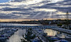 2017-01a-F6930 copia (Fotgrafo-robby25) Tags: alicante costablanca fujifilmxt1 marmediterráneo nubes puertodeportivotorredelahoradada rayosdesol torredelahoradada