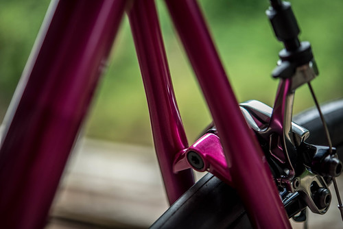 VeloColour collaboration Fillet road bike