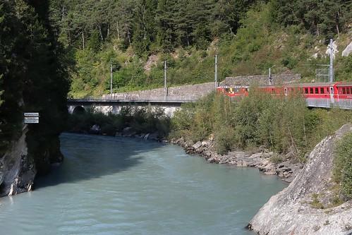 Rheinschlucht Ruinaulta - Rhaetian Railway