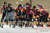 Fallin for Derby-3 (Mike Trottier) Tags: canada fallinforderby miketrottier miketrottierrollerderbyphotography pard prairies princealbert princealbertrollerderby rollerderby saskatchewan stlouis stlouisarena theoutlaws outlaws can