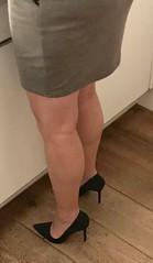 MyLeggyLady (MyLeggyLady) Tags: thighs hotwife secretary teasing milf sexy miniskirt cfm pumps stiletto legs heels