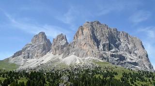 Astonishing Dolomites: Sassolungo (3181 m, asl)