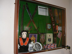 Red Rock Orange Hall - Markethill County Armagh (sean and nina) Tags: red rock orange hall markethill county co armagh northern north ireland ulster protestant unionist loyalist order grand lodge lol flags building memorials posters banners artefacts drums pikes photographs religion religious christian reformed faith culture politics political social friendly secret fraternal society
