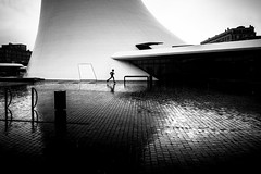 In weightlessness (tomabenz) Tags: streetphotography france noiretblanc urban monochrome human geometry noir et blanc street photography bw streetview black white europe sony a7rm2 bnw blackandwhite humaningeometry sonya7rm2