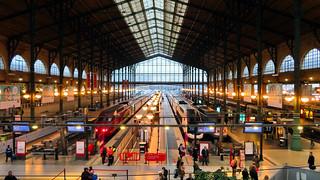 Gar du Nord, Paris France