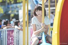 兒童新樂園外拍:羽葶 (Yu-Chu Lien) Tags: 人像 外拍 寫真 girl 兒童新樂園 兒童樂園 羽葶 nikon df 105mm 林羽葶