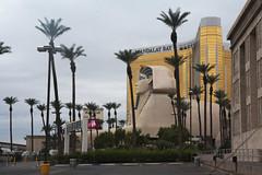 looking east (n.a.) Tags: lasvegas vegas nevada usa sphinx luxor mandalay bay casino hotel resort palm trees nv strip egyptian ancient