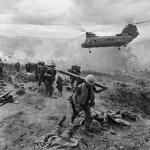 KHE SANH 1968 - Helicopter Removes Dead and Wounded thumbnail