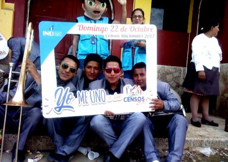 Amashca - Carhuaz: difusión de los Censos Nacionales 2017 - 3