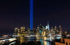 Tribute in Light Take 2 (Schaum Photography) Tags: d7200 extendedexposure extended exposure nikon nikonphotography jersey outdoors outside photography reflection sschaum schaumphotography tokina usa wideanglelens ny nyc sky lazyshutter lazyshutters tributeinlight new york city brooklyn