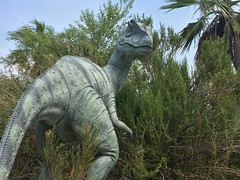 IMG_0317 (vxla) Tags: 2017 2010s vxla california travel summer september westcoast iphone losangeles cabazondinosaurs claudebellsdinosaurs riversidecounty dinosaur park palmsprings statue sculpture