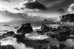 Elgol (Explored) (Joe Hayhurst) Tags: 2017 d610 highlands joehayhurst landscape nikon scotland elgol skye seascape rocks waves