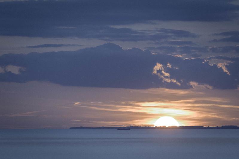 Sunset over Sweden
