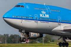 Boeing 747-400 KLM Royal Dutch Airlines PH-BFL cn 25356/888 (Guillaume Besnard Aviation Photography) Tags: eham ams amsterdamschiphol schipholairport polderbaan canoneos eos1dsmarkiii canoneos1dsmarkiii canonef500f4lisusm planespotting aircraft airplane boeing747400 klmroyaldutchairlines phbfl cn25356888 queenoftheskies royaldutchairlines klm boeing747