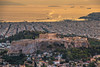 The Acropolis in Athens.Shot taken from Lycabettus hill. (Vagelis Pikoulas) Tags: athens city cityscape sunset capital greece europe acropolis ancient sea seascape landscape september autumn 2017 canon 6d tamron 70200mm view lycabettus