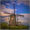 Golden Hour settles on windmills (booster90017) Tags: windmillsofholland ngo ngc scenicspendors windmills holland netherlands