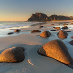 'Hot Rocks' - Uttakleiv, Lofoten, Norway thumbnail