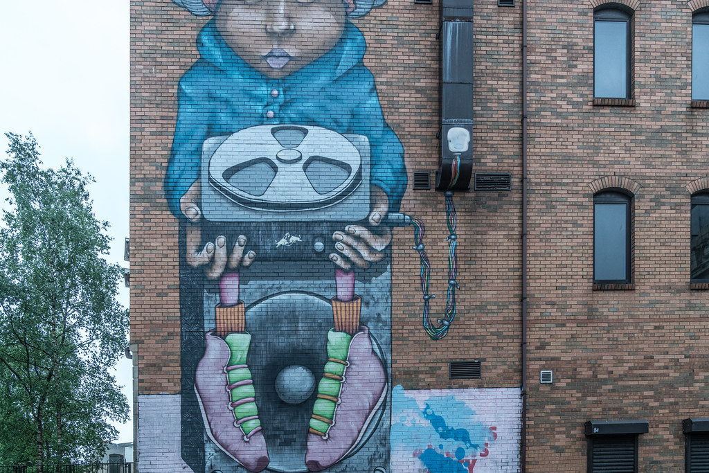 EXAMPLES OF URBAN CULTURE IN BELFAST [STREET ART AND GRAFFITI]-132953