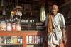 Old man in front of shop (wietsej) Tags: kawardha chhattisgarh india ony a700 sigma 1234 1224 shop old man front wietse jongsma bhoramdeo
